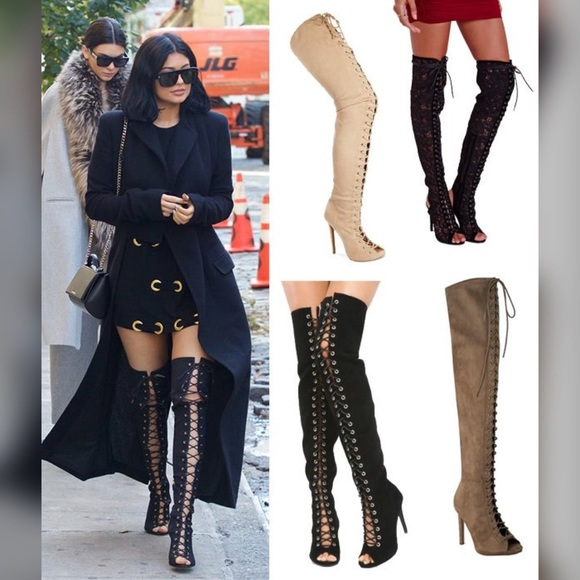 exclusive deals hot-selling fashion preview of Piarry Thigh High Boot Replica 👢